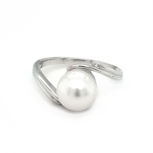 Leon Baker Sterling Silver and Broome Pearl Ring_0