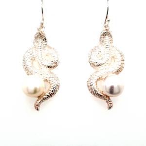 Leon Baker Sterling Silver Fresh Water Pearl Earrings_0