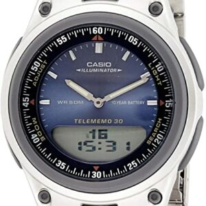 Casio Analog and Digital Combo Watch AQ180WD_0