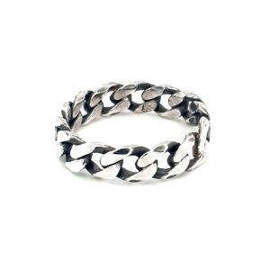 Leon Baker Sterling Silver Chain Ring_0