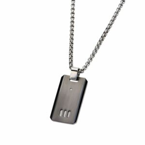 Leon Baker Stainless Steel Dog Tag_1