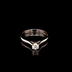Leon Bakers 18K White Gold Engagement Ring_1