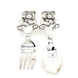 Leon Bakers Cuddly Bear Spoon and Fork Set_0