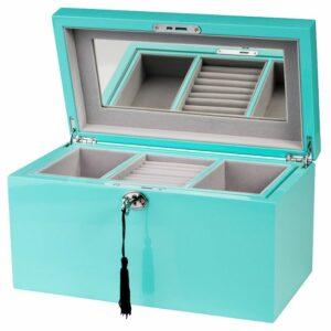Leon Bakers Turquoise Tiffany Jewellery Box_0