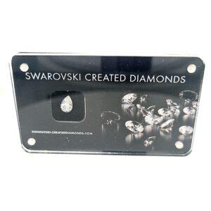 Swarovski Lab Grown 0.7ct Pear Cut Diamond_0