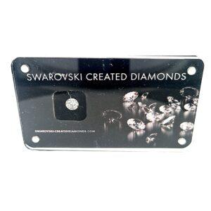 Swarovski Lab Created 0.6ct Round_0