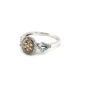 Leon Bakers 9K Two-Tone Diamond Set Ring_1