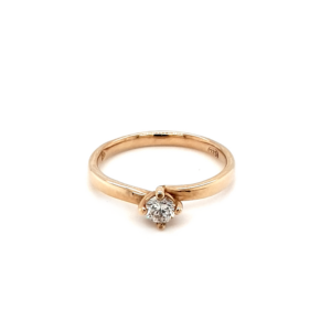 Leon Bakers 9K Yellow Gold Engagement Ring_0