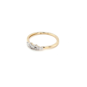Royal Diamond 9K Yellow Gold Diamond Ring_1