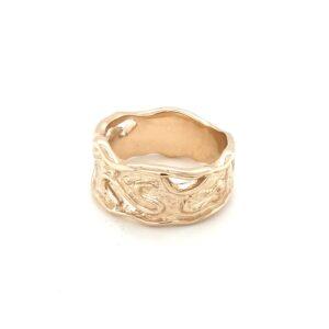 Leon Baker 9K Molten Dress Ring_1