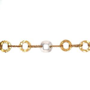 Leon Baker 18K Two Tone Fancy Bracelet_0