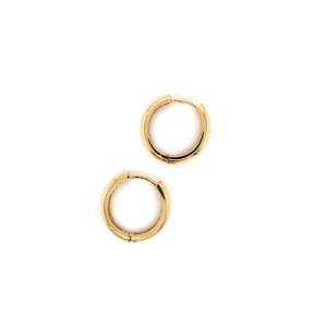 Leon Baker 9K Yellow Gold Earrings_0