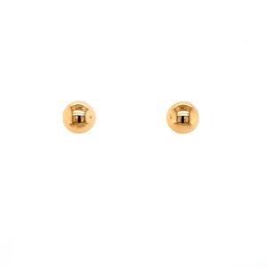 Leon Baker 9K Yellow Gold Dome Stud Earrings_0