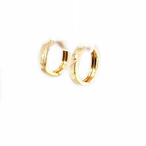 Leon Baker 9K Yellow Gold Earrings_1