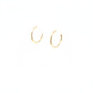 Leon Baker 9K Yellow Gold Sleepers_1