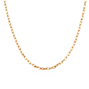 Leon Baker 9K Yellow Gold Diamond Cut Curb Chain_0