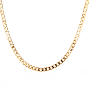 Leon Bakers 45cm 9k Yellow Gold Curb Chain_0