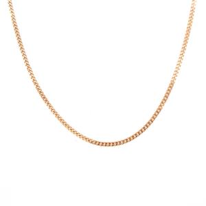 Leon Bakers 9K Yellow Gold Diamond Cut Curb Chain_0