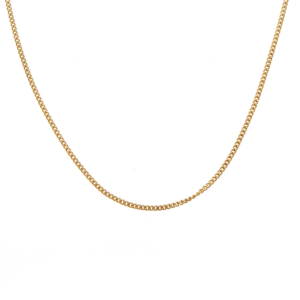 Leon Bakers 9k Yellow Gold Curb Chain_0