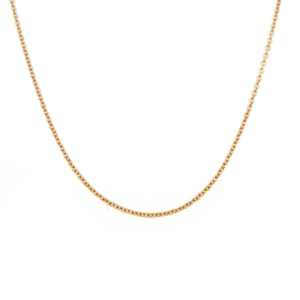 Leon Baker 9K Yellow Gold Round Cable Chain_0