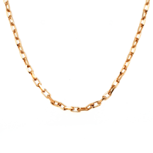 Leon Bakers 9k Yellow Gold Diamond Cut Cable Chain_0