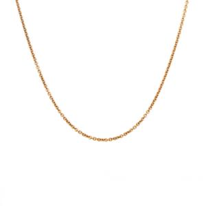Leon Baker 9K Yellow Gold Figaro Chain_0