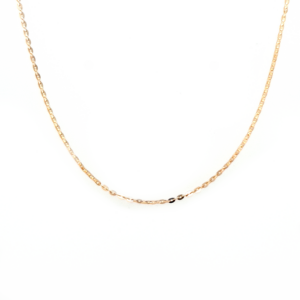 Leon Baker 9K Yellow Gold Flat Cable Chain_0