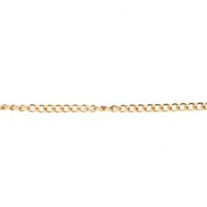 Leon Baker 9K Yellow Gold Curb Chain Bracelet_0