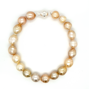 Leon Baker South Sea Pearl Bracelet with Sterling Silver Clasp_0