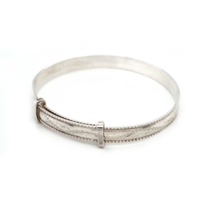 Blue Bird Sterling Silver Expandable Baby Bangle_1