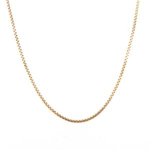 Leon Baker 9K Yellow Gold Diamond Cut Box Chain_0